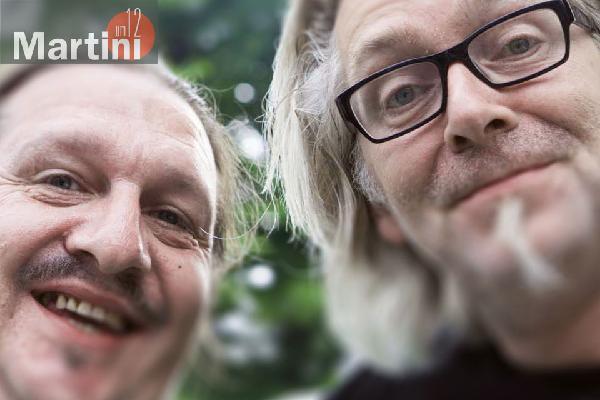 Herr Schoen und Jens Petersen