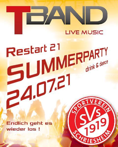 Restart 21 Summerparty