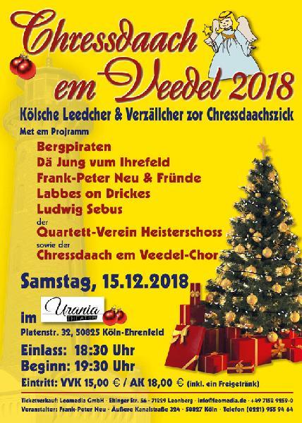 Chressdaach em Veedel 2018