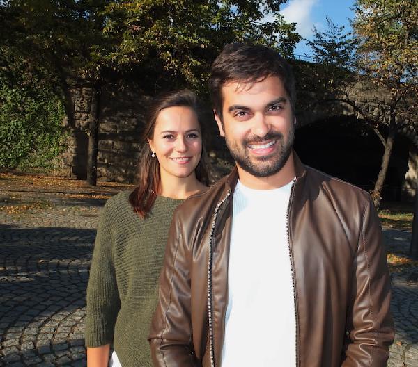 Pedro Sperandio und Nicola Heineker