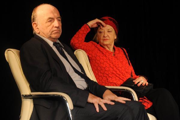 Willi Schlüter und Sibylle Brunner